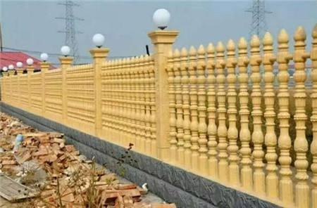 海南水泥围墙栏杆